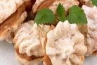 Печенье миндальное с кремом