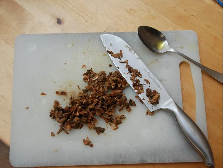 Рецепт Грибная икра из сухих грибов