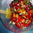Рецепт Запеченные баклажаны с сальсой