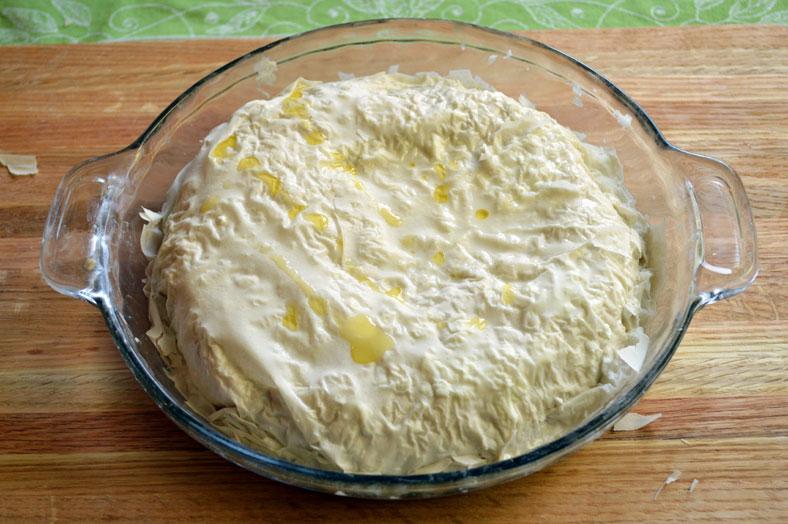 Быстрый пирог с сыром - фото шаг 5