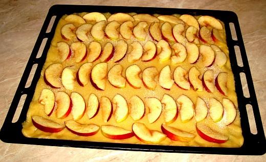 Песочный пирог с яблоками - фото шаг 6
