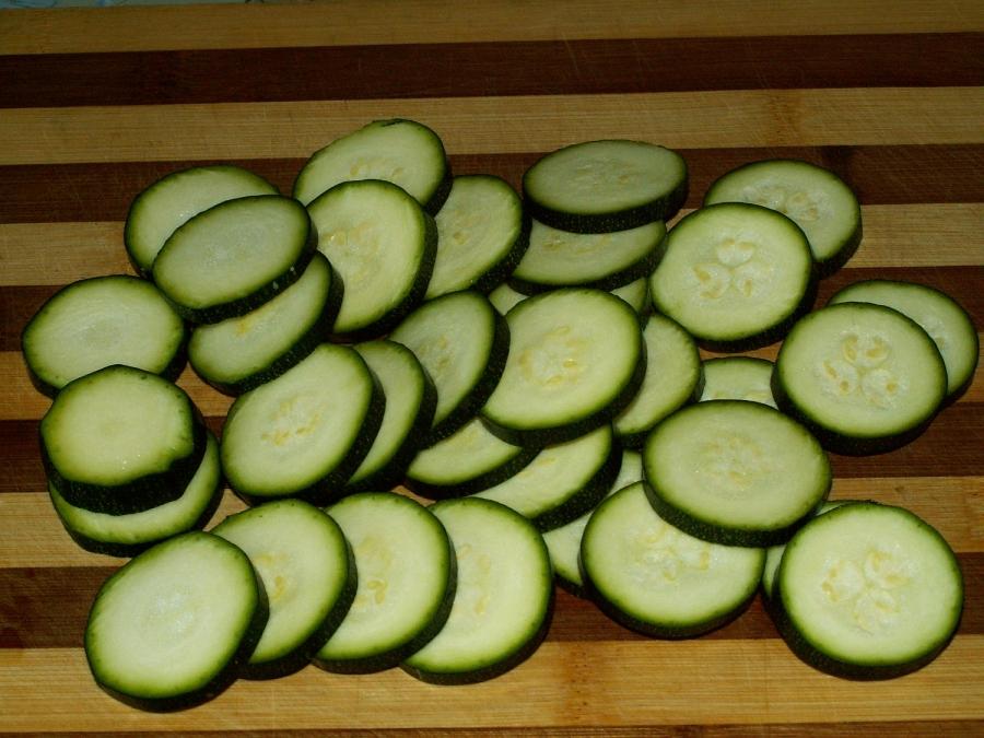 Рецепт Кабачки с картошкой и помидорами