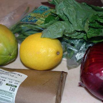 Утка с зеленой фасолью и папайя   - фото шаг 1
