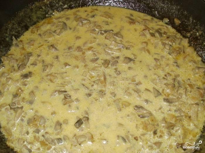 Грибной соус со сливками - фото шаг 5