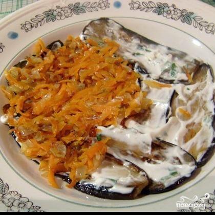 Горячий салат с баклажанами - фото шаг 5