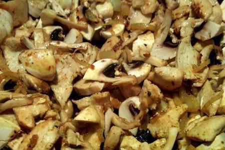 Фрикасе из курицы с грибами  - фото шаг 4