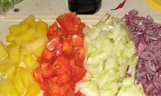 Рецепт Салат со смородиной