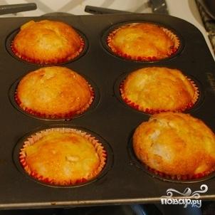 Имбирные маффины с яблоками - фото шаг 11