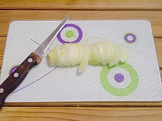 Салат к красному вину - фото шаг 2