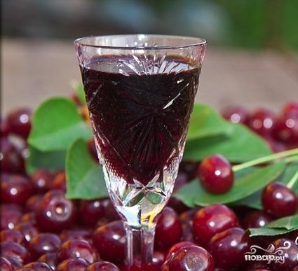 вишневый ликер рецепт