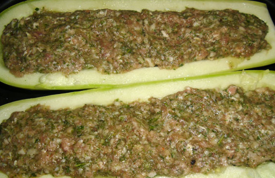 Рецепт Кабачки, запеченные в фольге