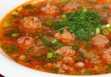 Гречневый суп с фрикадельками - фото шаг 6