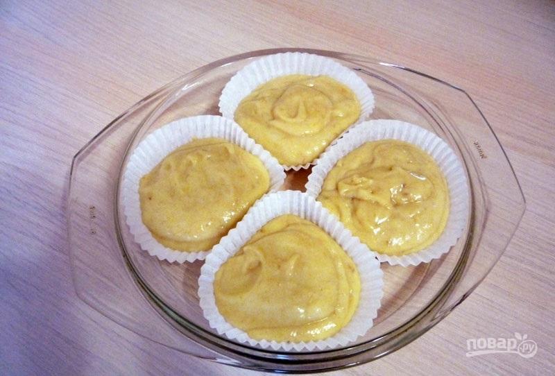 Маффины творожные с бананом рецепт с пошагово