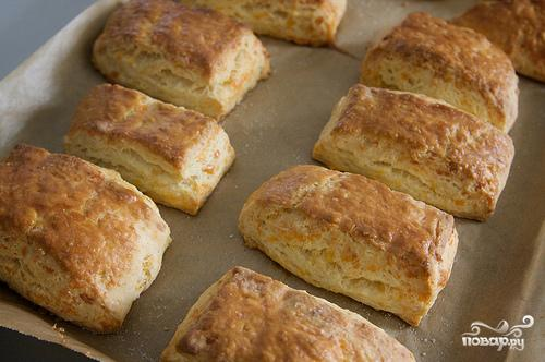 Печенье с сыром Чеддер - фото шаг 8