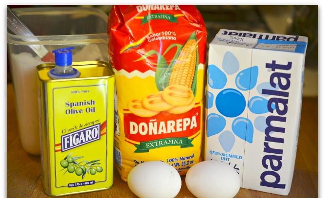 Рецепт Блинчики из кукурузной муки
