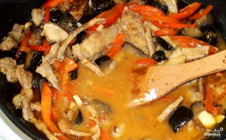 Мясо по-пекински - фото шаг 7