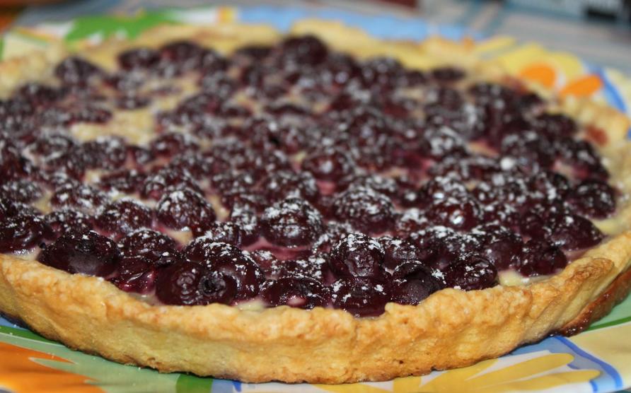 Песочный пирог с ягодами - фото шаг 10