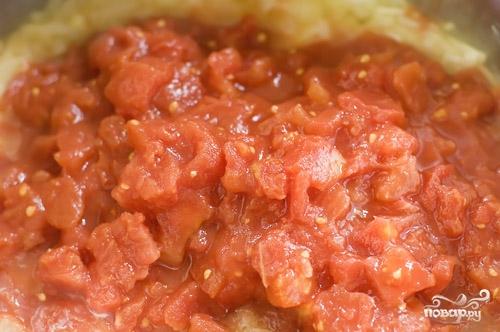 Суп с консервированными помидорами - фото шаг 2
