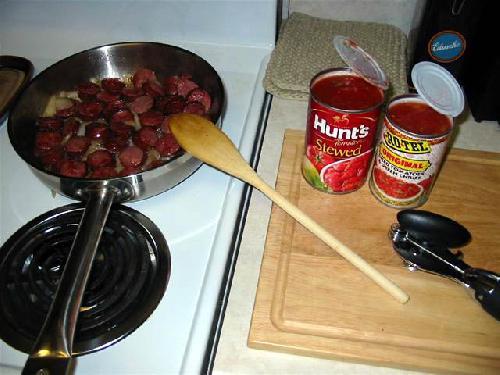 Креольские сосиски  - фото шаг 5