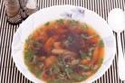 Суп из консервированных грибов
