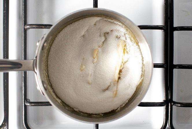 """Рецепт """"Брауни"""" с соленой карамелью"""