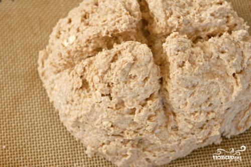Хлеб из пресного теста - фото шаг 3
