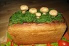 Салат в хлебе