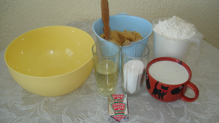 Рецепт Пирожки с горохом в духовке