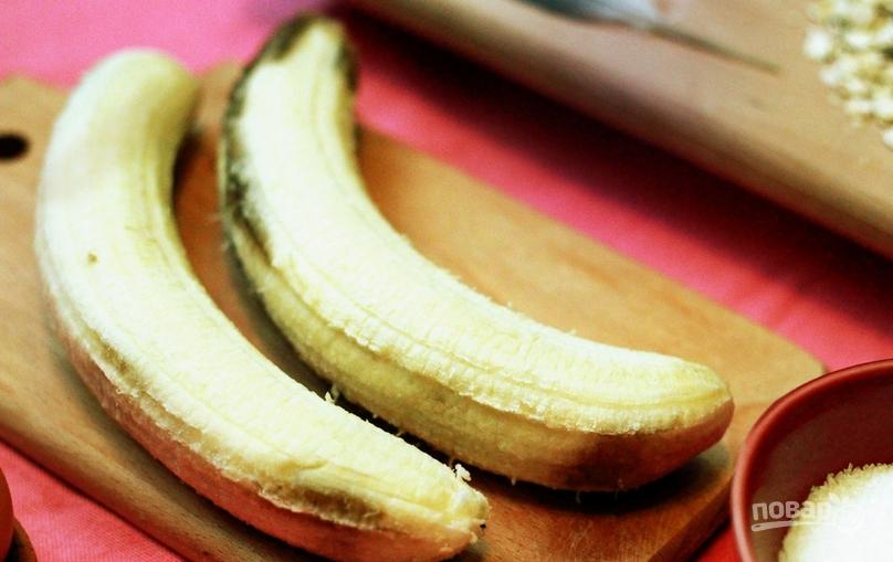 Овсяные печенья с бананом