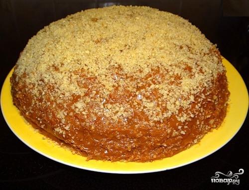"Торт ""Пища богов"" - фото шаг 8"