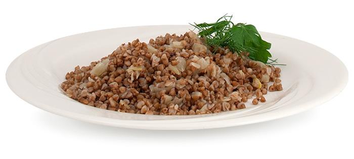 Рецепт Гречка с луком в мультиварке