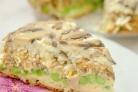 Пирог с грибами перевертыш