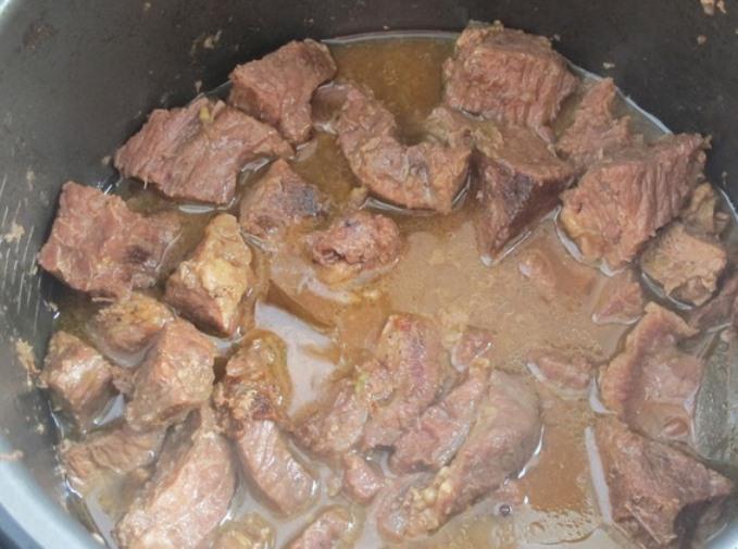 Тушенка из говядины в мультиварке   - фото шаг 6