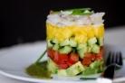 Салат из лангустов
