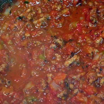 Сырный Тортеллини с мясным соусом - фото шаг 14