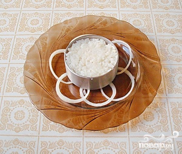 """Белый"" салат с куриной грудкой - фото шаг 3"