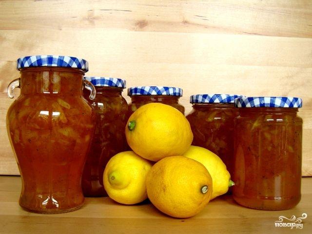 Рецепт Варенье из лимонов в мультиварке