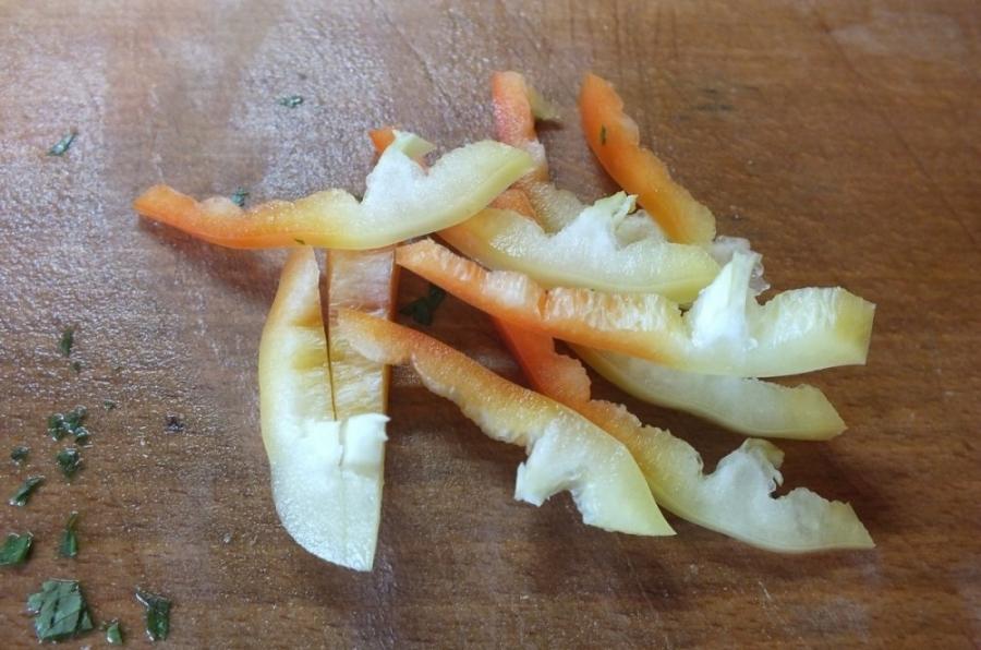 Цветная капуста с болгарским перцем - фото шаг 2