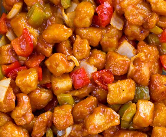 Курица с овощами в кисло-сладком соусе - фото шаг 3