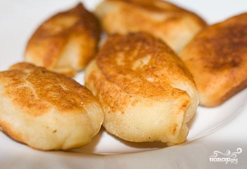 Рецепт Пирожки из картофельного теста
