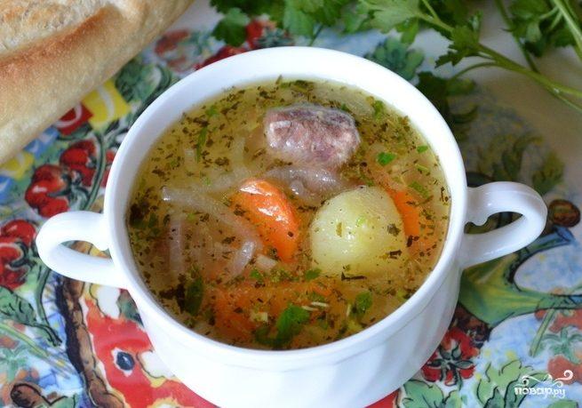 Соус из говядины с картошкой