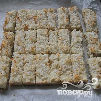 Кокосовые пирожные с орехами - фото шаг 8