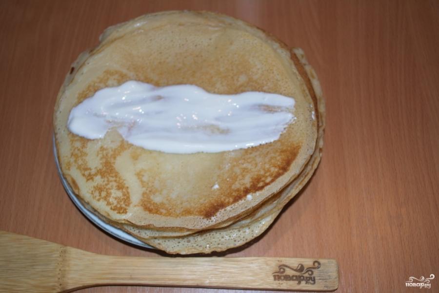 Закуска с блинами - фото шаг 7