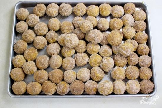 Пончики из тыквы - фото шаг 6