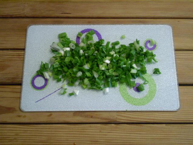 Салат зеленый - фото шаг 4