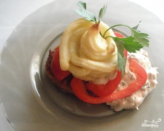 Картофельное пюре, запеченное в духовке