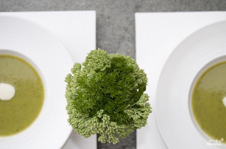 Суп-пюре из брокколи - фото шаг 9