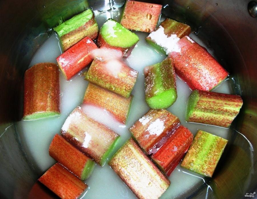 Фото рецепт с ревенем