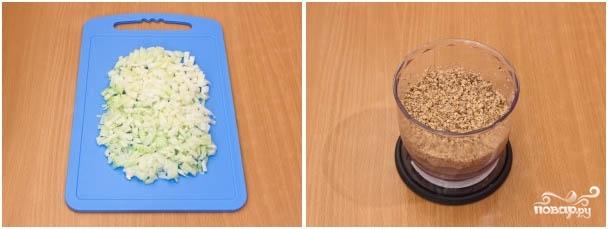 Харчо с грецкими орехами - фото шаг 3