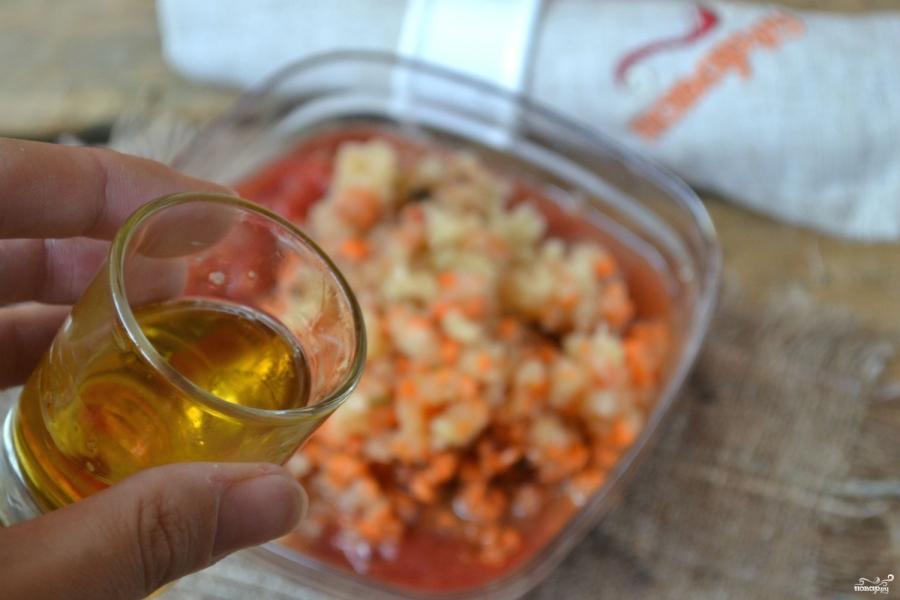 Аджика с морковью и помидорами - фото шаг 4